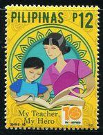 XE0938 Philippines 2018 Teacher's Day 1V MNH - Philippinen