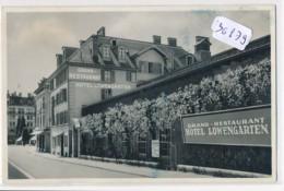 CPM-36879-Suisse -Luzern - Hotel Restaurant Löwengarten ( En L'état - Carte Endommagée=2scans) - LU Lucerne