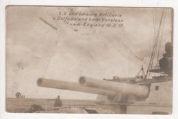 ° KRIEGSMARINE ° L.9 UND SCHWERE ARTILLERIE V. OSTFRIESLAND BEIM VORSTOSS NACH ENGLAND 19.8.16 ° - Guerre