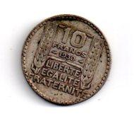 10 Francs Turin De 1930 -voir état - - France