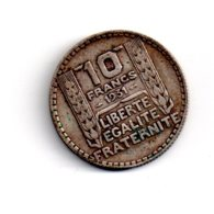 10 Francs Turin De 1931 -voir état - - France