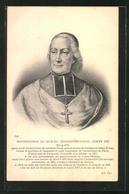 AK Monseigneur De Quélen, Kathol. Geistlicher - Christentum