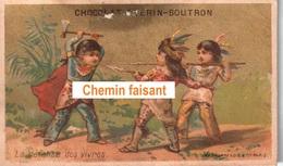 Chromo Chocolat GUERIN-BOUTRON - La Défense Des Vivres  -  Scans Recto-verso - Guerin Boutron