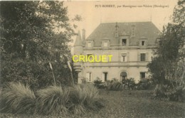 24 Montignac Sur Vézère, Chateau De Puy-Robert, Carte Pas Très Courante - France
