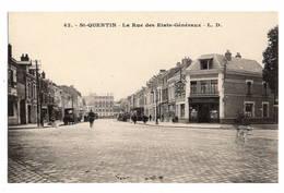 02 AISNE - SAINT QUENTIN La Rue Des Etats-Généraux, Pharmacie De 1ère Classe - Saint Quentin