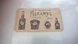 CARTE PARFUMEE FLORAMYNE - Perfume Cards