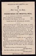 Sint-Niklaas, Elversele, 1907, Franciscus Westelinck - Andachtsbilder