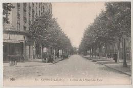 CPA 94 CHOISY LE ROI Avenue De L' Hôtel De Ville - Choisy Le Roi