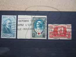 VEND TIMBRES DE FRANCE N° 421 + 422 + 423 !!! - France