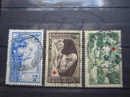 VEND TIMBRES DE FRANCE N° 458 - 460 !!! - France