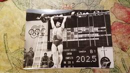 1968, Mexico Olympic Games - Czech Edition - Old Postcard - Leonid Zabotinsky - Weightlifting - Haltérophilie