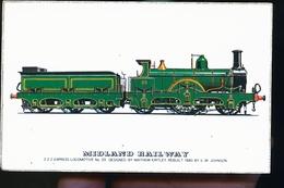 MIDDLAND RAIL WAY   REPRO 1978 - Matériel