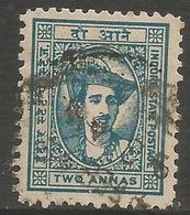 Indore (Holkar) - 1941 Maharaja Yeshwant  Rao II 2a Used   SG 40  Sc 38 - Holkar