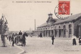 CPA ANGERS LA GARE SAINT SERGE - Angers