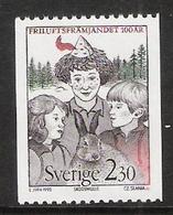 Sweden 1992 100 Years Association For The Promotion Of The Volunteer, Mi  1704   MNH(**) - Schweden