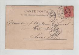 Généalogie Carte Précurseur 1905 Guyot  Port Marly Tarbes Jardin - Généalogie