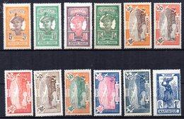 Col10    Martinique  N° 92 à 104 Sauf 100 Neuf X MH  Cote : 11,00 Euro Cote 2015 - Martinique (1886-1947)
