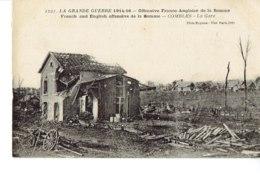 Cpa Grande Guerre Offensice Franco Anglaise De La Somme. - France