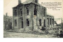 Cpa Grande Guerre Offensice Franco Anglaise De La Somme.Herbecourt - France