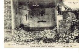 Cpa Grande Guerre , Chapelle Allemande D'Herbecourt. - France