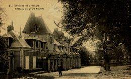 27 ENVIRONS DE GAILLON - CHATEAU DE COURT-MOULINS - Non Classificati