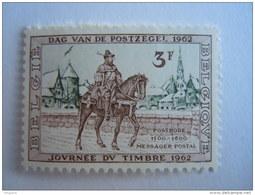 België Belgium 1962 Journée Du Timbre Dag Van De Postzegel Postiljon Postillon à Cheval Yv COB 1212 MNH ** - Belgium