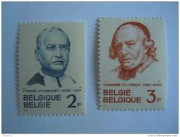 België Belgium 1962 Gochet Triest Yv COB 1214-1215 MNH ** - Belgium
