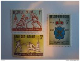 België Belgium 1963 Schermen Escrime Yv COB 1246-1248 MNH ** - Belgien