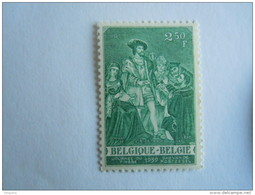 België Belgium 1959 Dag Van De Postzegel Keizer Karel Journée Du Timbre Charles Quint COB Yv 1093 MNH ** - Belgique