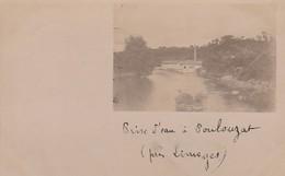 87 - POULOUZAT - 1904 - PRISE D'EAU - USINE - - Francia