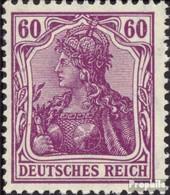 Allemand Empire 92II Guerre D'impression Avec Charnière 1905 Allemagne - Allemagne