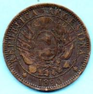 NO/ ARGENTINA / ARGENTINE  2 CENTAVOS 1890 - Argentina
