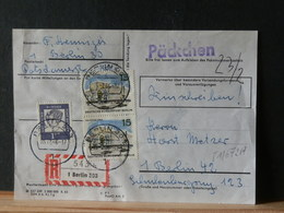 81/672A    DOC. PACKCHEN  BERLIN  1966 - Berlin (West)