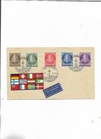 1 Brief Von Der Industriemesse 1955 Glocke Mitte Satz! Luftpost - Briefe U. Dokumente