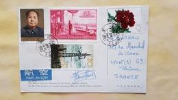 Carte Postale 1965 Avec Timbres (Mao, Etc.), Bon état (voir Photos) - 1949 - ... People's Republic