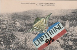 CPA LE VILLAGE DE VAUDESSON AISNE - Francia