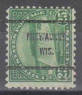 USA Precancel Vorausentwertung Preo, Bureau Wisconsin, Milwaukee 699-61 - Vereinigte Staaten