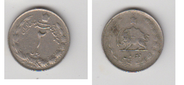 2 RIALS  1333 (1954) - Iran