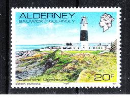 Alderney - 1983. Faro. Lighthouse. MNH - Fari