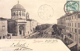 ITALIA - BERGAMO - Chiesa Di ............., Animata, Viag. 1903 - 2018-4-35 - Bergamo