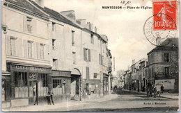 78 MONTESSON - La Place De L'église - Montesson