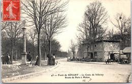 91 SENART - La Croix De Villeroy, Route De Paris à Melun - Sénart