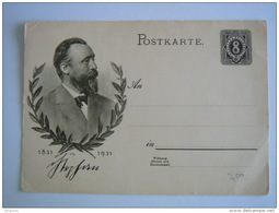 Deutsche Reich Stationary Entier Postal GSK Ganzsache Postkarte 1931 - Allemagne