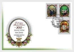 Letland / Latvia - Postfris / MNH - FDC 100 Jaar Republiek Letland 2018 - Letland