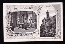 """1921 - 15 Pf. Privat Ganzsache """"Lutherstube Und Wartburg"""" - Gebraucht Ab Eisenach - Christianisme"""