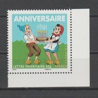 FRANCE / 2007 / Y&T N° 4081 ** : Sylvain & Sylvette TVP LP (issu Du BF N° 112) CdF - Gomme D'origine Intacte - Neufs