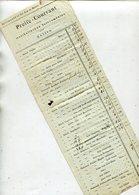 Preisliste Fuer Musikalische Instrumente / Ex Mittenwald, 2 Seiten, Sehr Int. (26100) - Instruments De Musique