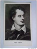 Cpsm Portrêt Lord Byron Verlag Beringer - Ecrivains