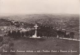 BUJA DEL FRIULI 4 Settembre 1960 - Monumento Croce Luminosa Friulani Caduti E Dispersi In Guerra - Autres Villes