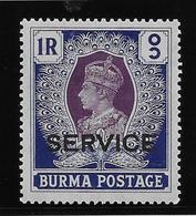Birmanie Service N°23 - Neuf * Avec Charnière - TB - Burma (...-1947)